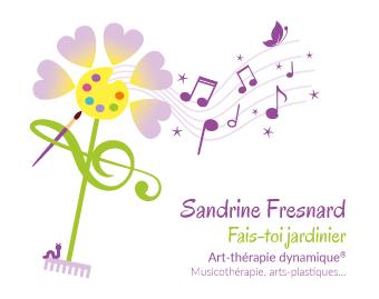 Sandrine Fresnard art therapie dynamique musicothérapie arts plastiques ecriture